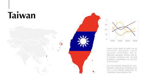 아시아 지도 Mac용 키노트_23