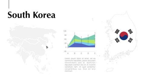 아시아 지도 Mac용 키노트_27