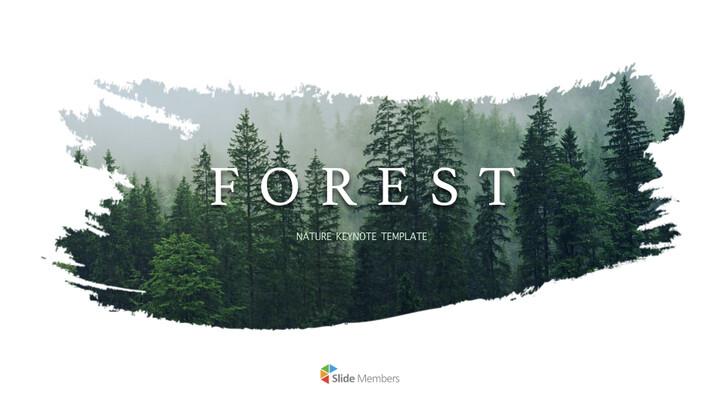 숲 멀티 프레젠테이션 키노트 템플릿_01