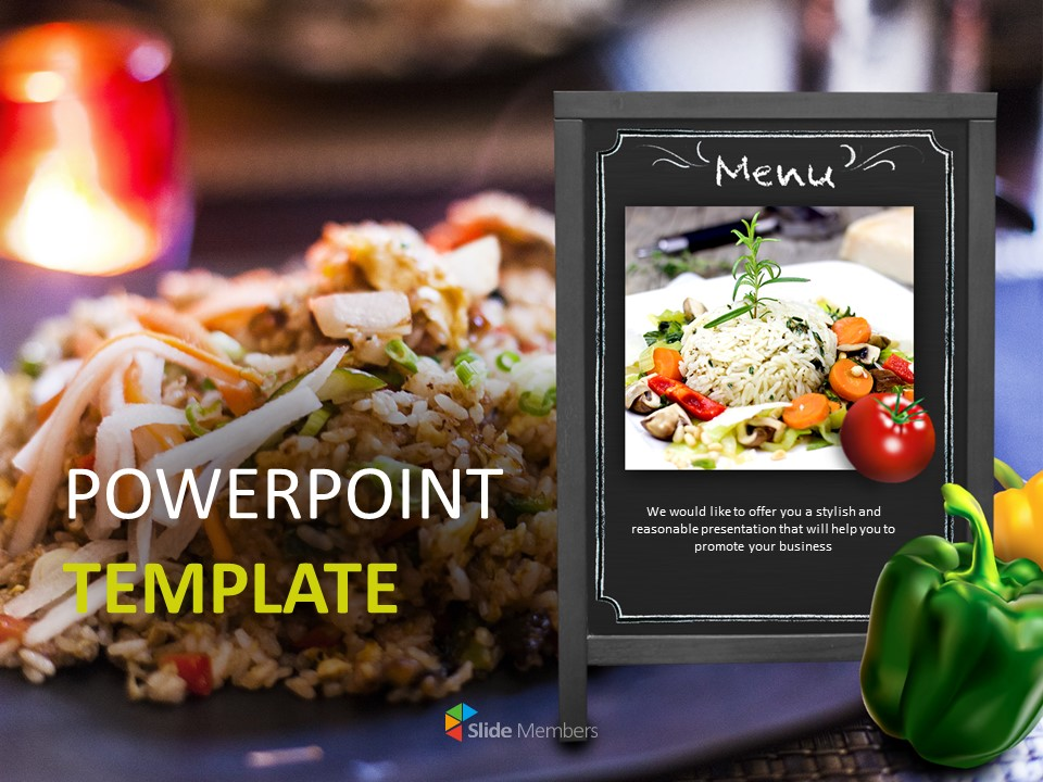 Free Powerpoint Sample Restaurant Risotto