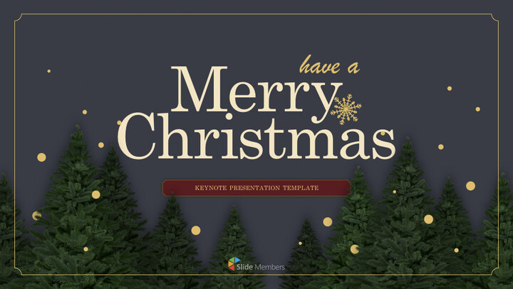 Merry Christmas Multipurpose Presentation Keynote Template_01