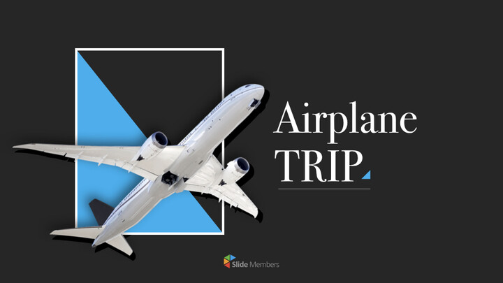 Airplane Trip Simple Keynote Template_01