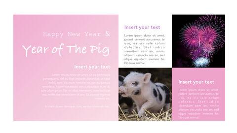 돼지의 해 심플한 키노트 템플릿_09