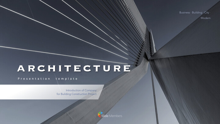 Architecture Business Simple Keynote Template_01