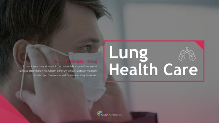 폐 건강 관리 키노트 프레젠테이션 템플릿_01