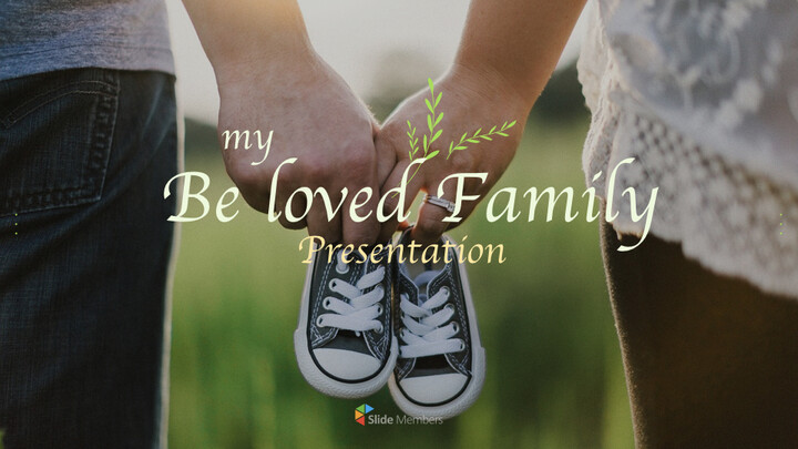 사랑하는 가족 멀티 프레젠테이션 키노트 템플릿_01