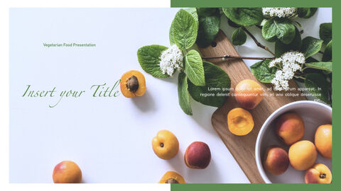 Vegetarian Food Keynote Presentation Template_02