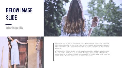 여성 패션 트렌드 멀티 프레젠테이션 키노트 템플릿_22