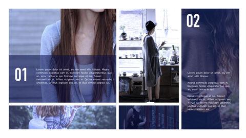 여성 패션 트렌드 멀티 프레젠테이션 키노트 템플릿_30