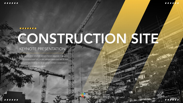Construction Multipurpose Presentation Keynote Template_01