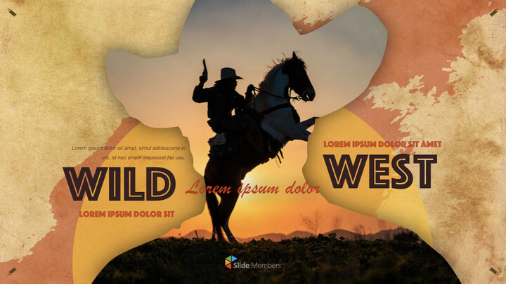 Wild West theme Keynote Design_01
