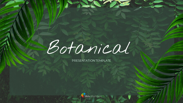 Botanical Google Slides Themes for Presentations_01