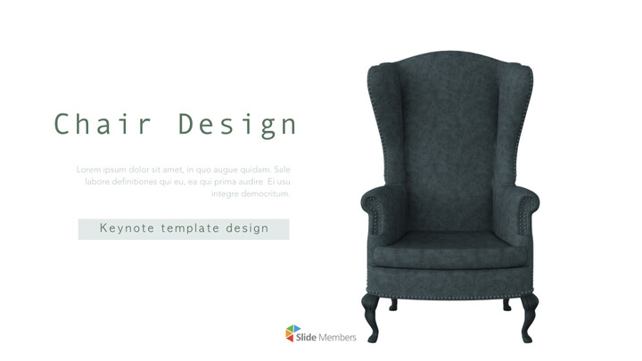 Chair Design theme Keynote Presentation Template_01