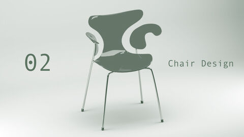 Chair Design theme Keynote Presentation Template_09