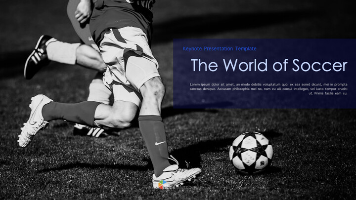 The World of Soccer Keynote Templates_01
