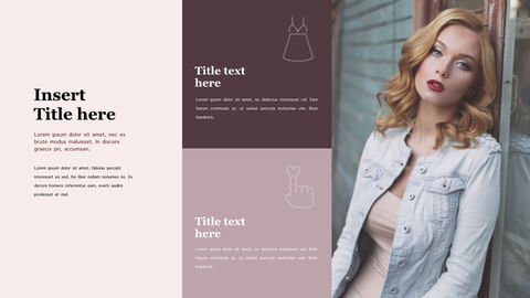 Fashion Style Simple Keynote Template_02