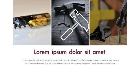 도구 (툴) 테마 키노트 디자인_13