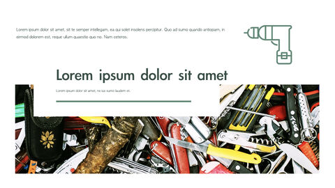 도구 (툴) 테마 키노트 디자인_20