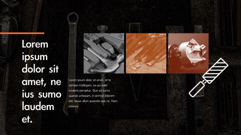 도구 (툴) 테마 키노트 디자인_21