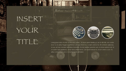 Vintage theme Keynote Presentation Template_02