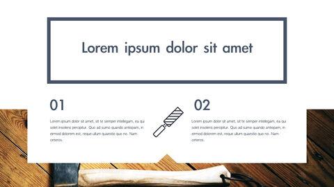 도구 (툴) 테마 키노트 디자인_33