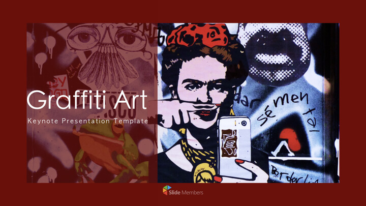 Graffiti Art Multipurpose Presentation Keynote Template_01