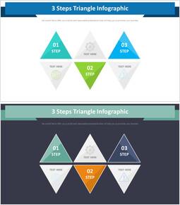 3 단계 삼각형 인포 그래픽 다이어그램_00