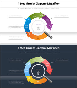 4 Step Circular Diagram (Magnifier)_00