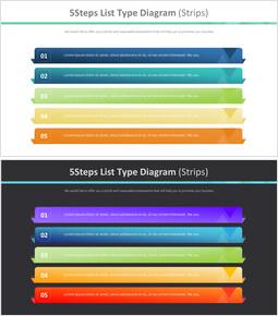 5 단계 목록 유형 다이어그램 (스트립)_00