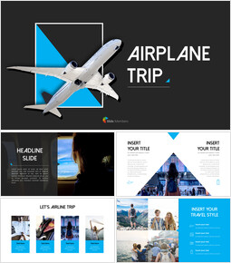 Airplane Trip PowerPoint Templates_00