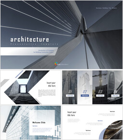 Architecture Business Theme PPT Templates_00