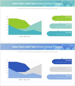 텍스트가있는 영역 차트 (녹색 노랑 삼각형)_00