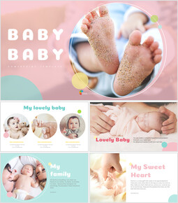Baby Baby Templates Design_38 slides
