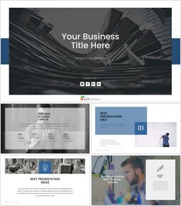 비즈니스 (일반) Google 슬라이드 프레젠테이션 템플릿_00