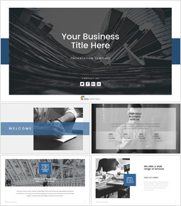 Business(general) PowerPoint Templates Design_00
