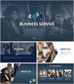비즈니스 서비스 프레젠테이션용 PowerPoint 템플릿_00