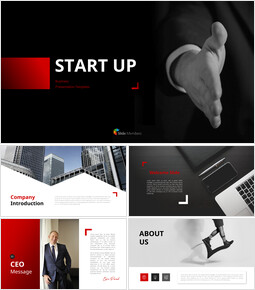 Business Startup PowerPoint Templates Design_00