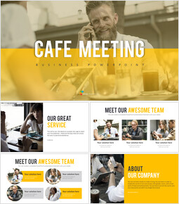 Cafe Meeting PowerPoint Templates_00
