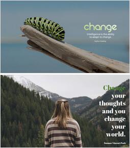変化する_5 slides