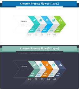 Chevron Process Flow Diagram (5 Stages)_00