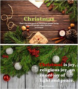 クリスマス_5 slides