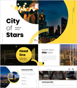 City of Stars PowerPoint Templates Design_00