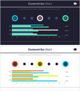 Clustered Bar (Star)_4 slides