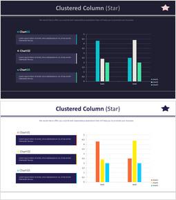 Clustered Column (Star)_4 slides
