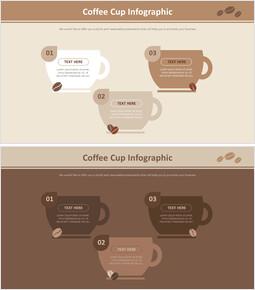 커피 컵 인포 그래픽 다이어그램_00