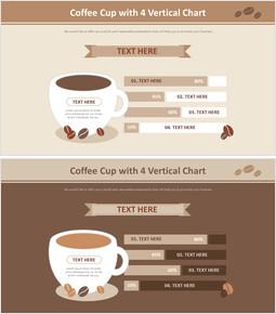 4 수직 커피 컵 차트 다이어그램_00