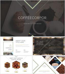 커피 산업 슬라이드 프레젠테이션_00