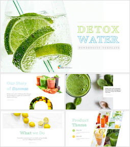 Detox Water PowerPoint Templates Design_00
