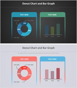 도너츠 및 막대 그래프 다이어그램_00