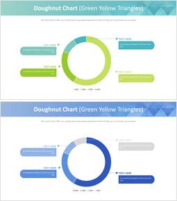도넛 형 차트 (녹색 노랑 삼각형)_00
